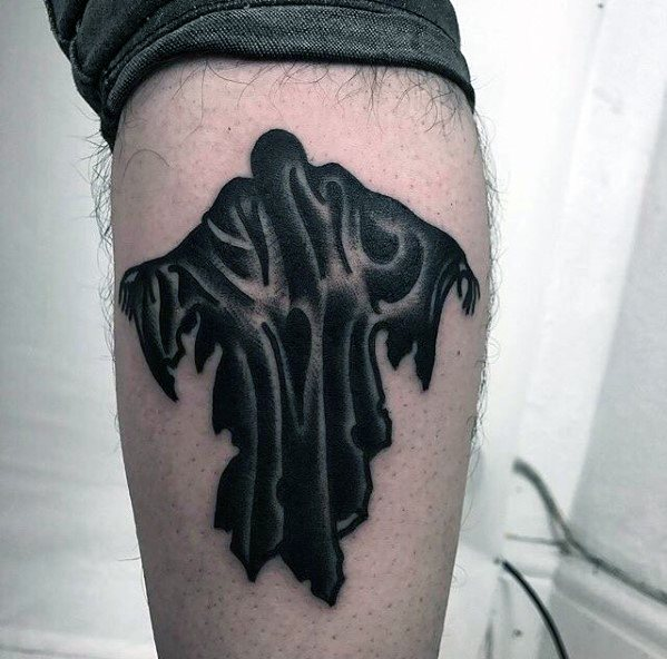 Amazing Mens Dementor Tattoo Designs