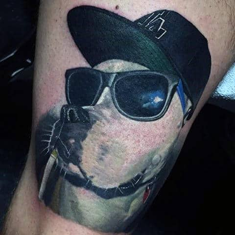 100 dog tattoos for men creative canine ink design ideas
