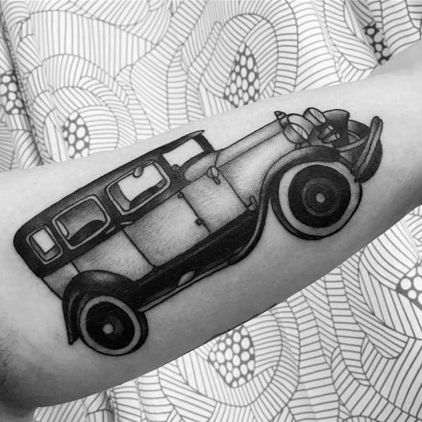 Amazing Mens Ford Tattoo Designs