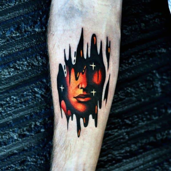 Amazing Mens Gradient Tattoo Designs