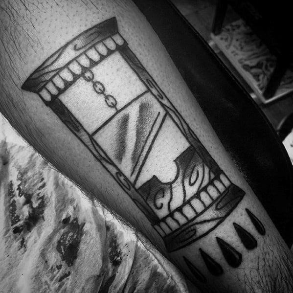Amazing Mens Guillotine Tattoo Designs