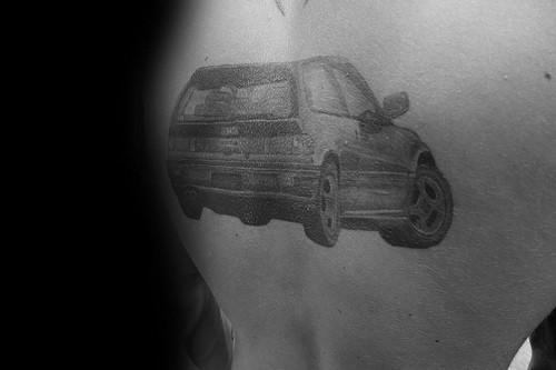 Amazing Mens Honda Tattoo Designs