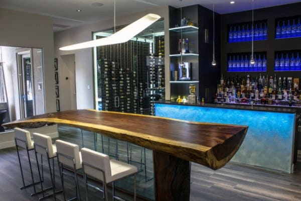 Amazing Men's Man Cave Bar Designs