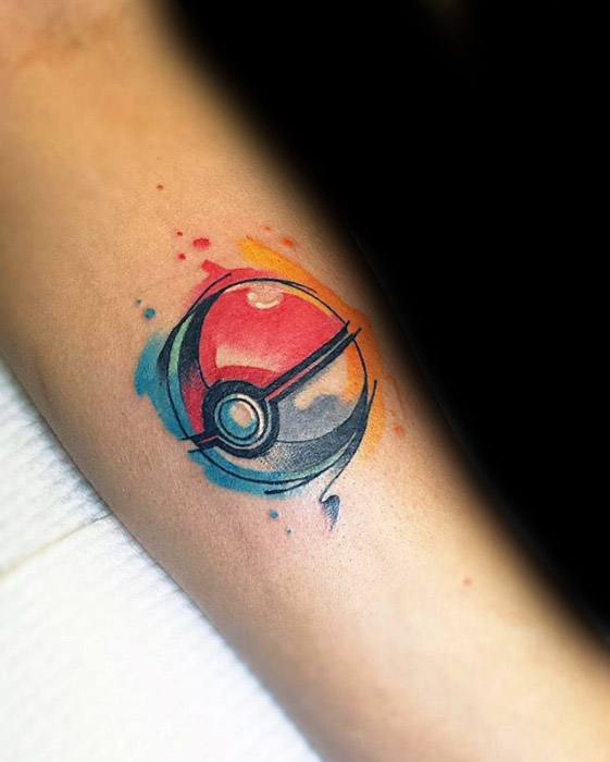 50 Amazing Tattoo Designs For Men: 50 Pokeball Tattoo Designs For Men