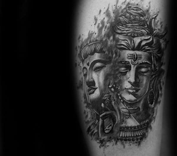 amazing mens shiva tattoo designs on arm