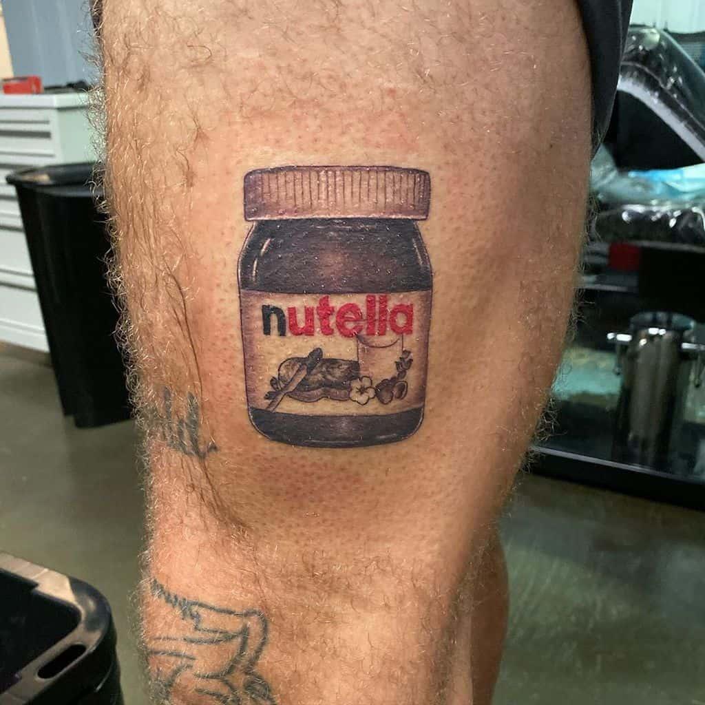 Amazing Nutella Art Tattoo