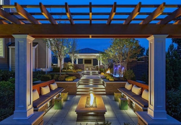 Top 60 best cool backyard ideas outdoor retreat designs - Outdoor patio design ideas ...