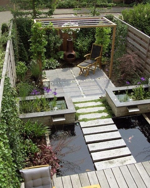 Amazing Patio Ideas For Stepping Stone