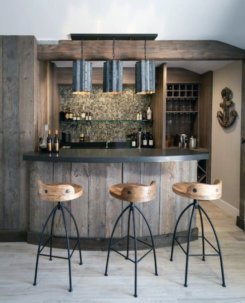 Amazing Rustic Basement Ideas