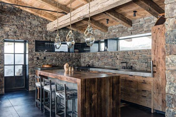 Amazing Rustic Home Bar Inspiration