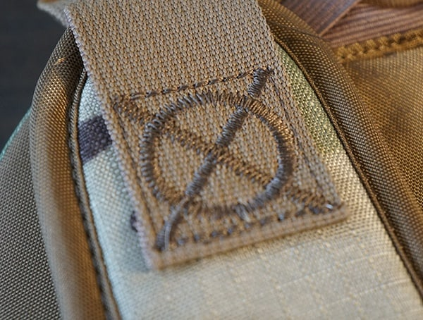Amazing Stiching Detail On Strap Camelbak Miltac Mule