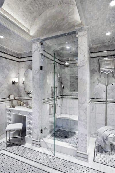 Amazing Tile Bathroom Ceiling Ideas