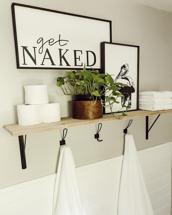 Amazing Towel Storage Shelf Watersedgedesign