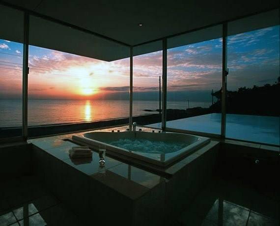Amazing View Bathtub Cool Bathrooms Ideas