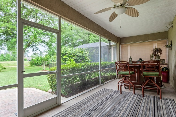American Home Lanai Screened In Porch