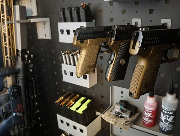 American Made Custom Metal Gun Storage Cabinets