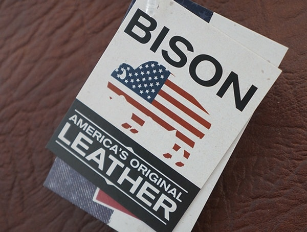 Americas Original Leather Bison Duluth Pack Tag