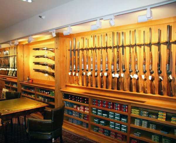 Ammo And Gun Storage Room