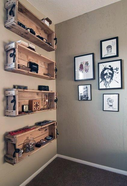 Ammo Crate Wall Storage Cheap Man Cave Shelf Ideas