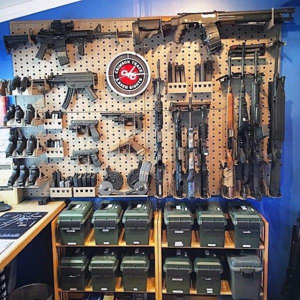 Ammo Storage Gun Room Design