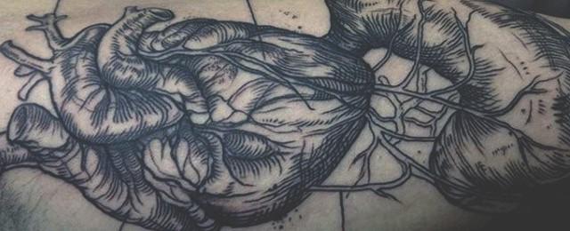 Top 91 Anatomical Heart Tattoo Ideas – [2021 Inspiration Guide]