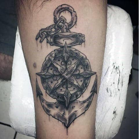 Anchor Tattoos For Males
