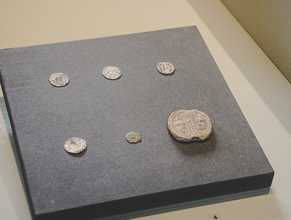 Ancient Coins Tickets Colosseum Rome Italy
