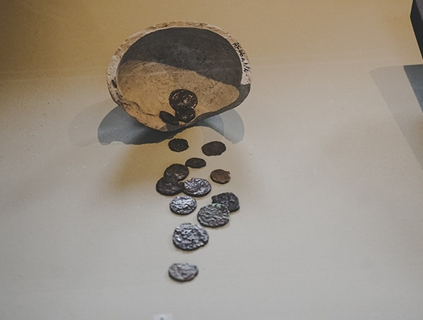 Ancient Colosseum Entry Coins