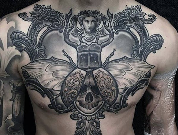 top 50 best symbolic tattoos for men design ideas with unique meanings. Black Bedroom Furniture Sets. Home Design Ideas
