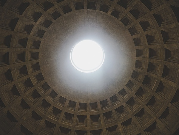 Ancient Roman Architecture Pantheon Dome