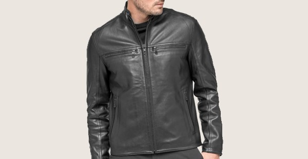 Andrew Marc Bane Men's Leather Jacket