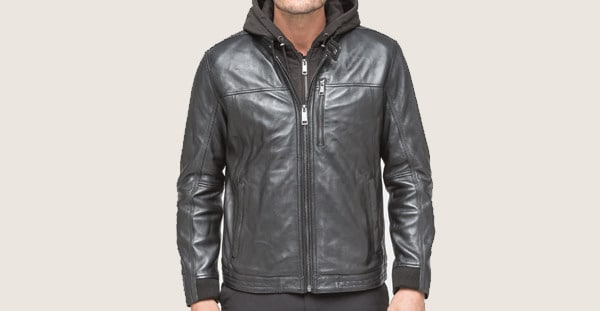 Andrew Marc Gage Men's Leather Jacket
