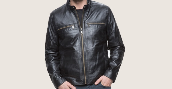 Andrew Marc Leo Men's Leather Jacket