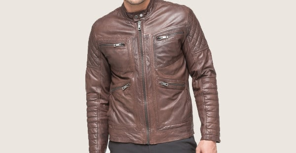 Andrew Marc Weston Men's Leather Jacket