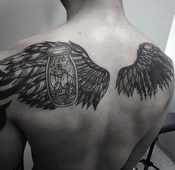 50 Cool Back Tattoos For Men - Expansive Canvas Design Ideas
