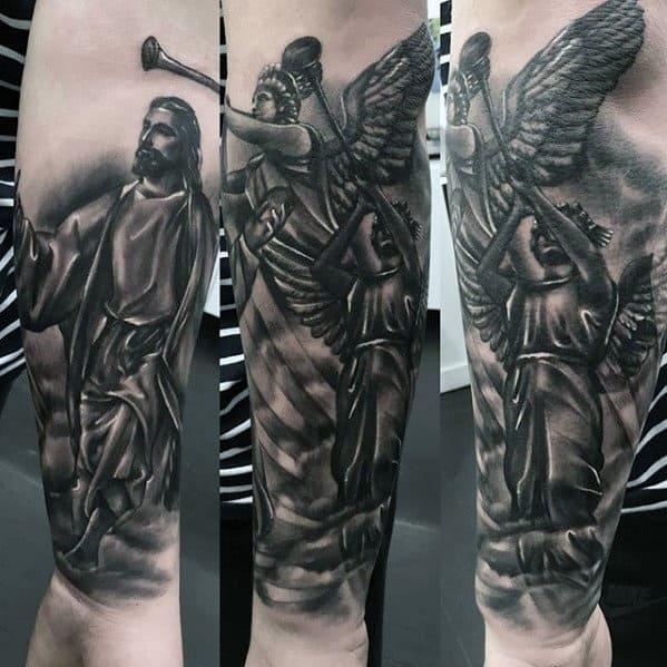 50 Jesus Forearm Tattoo Designs For Men - Christ Ink Ideas