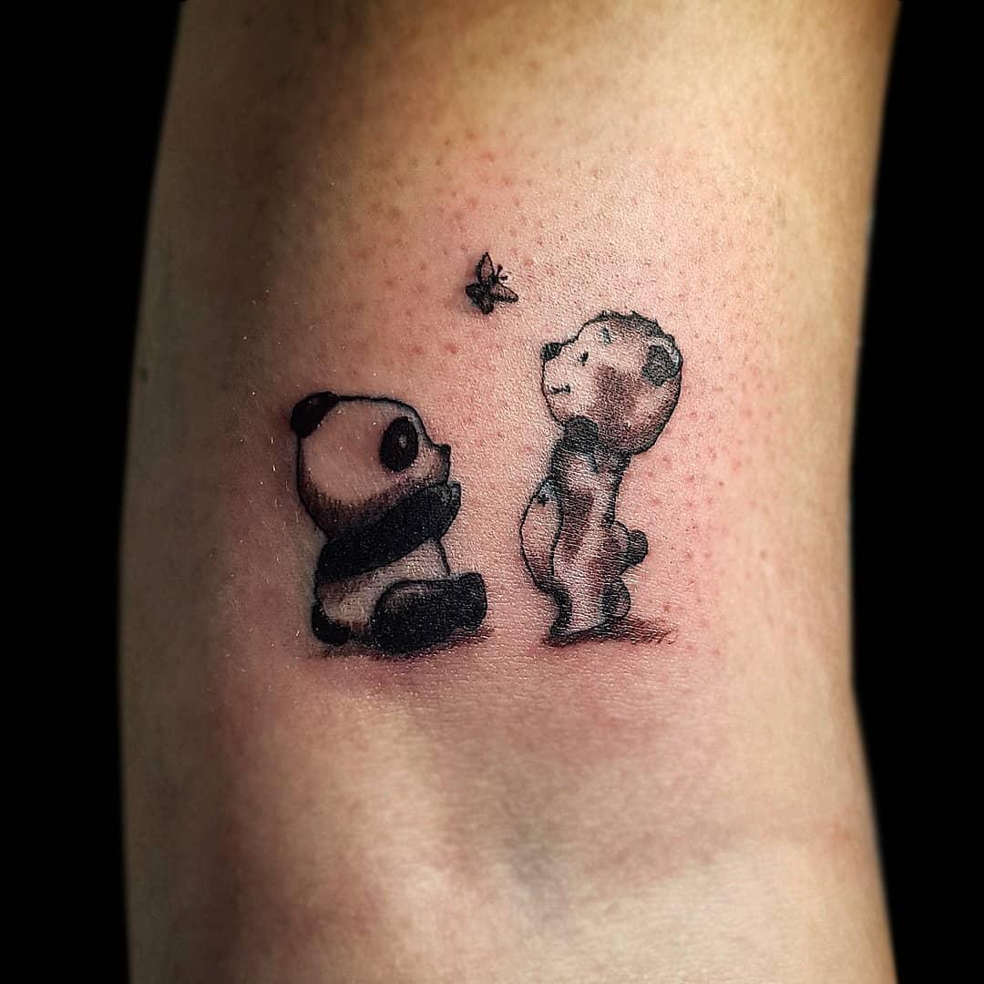 Animal Cute Tattoo Zan Ticijan Dolar