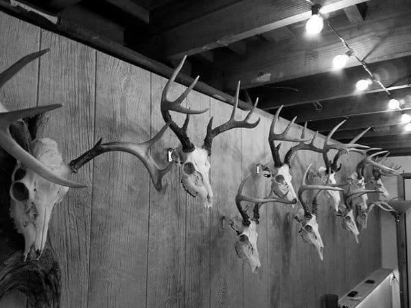 Animal Skulls Bachelor Pad Decor Design Inspiration