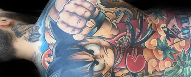 Anime Tattoos For Men