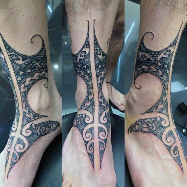 Maori Ankle Tattoo: Top 93 Maori Tattoo Ideas [2020 Inspiration Guide]