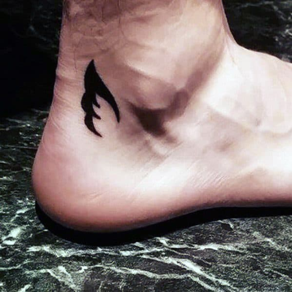 Angel Wings Tattoo Small Simple: 50 Cool Simple Tattoos For Men