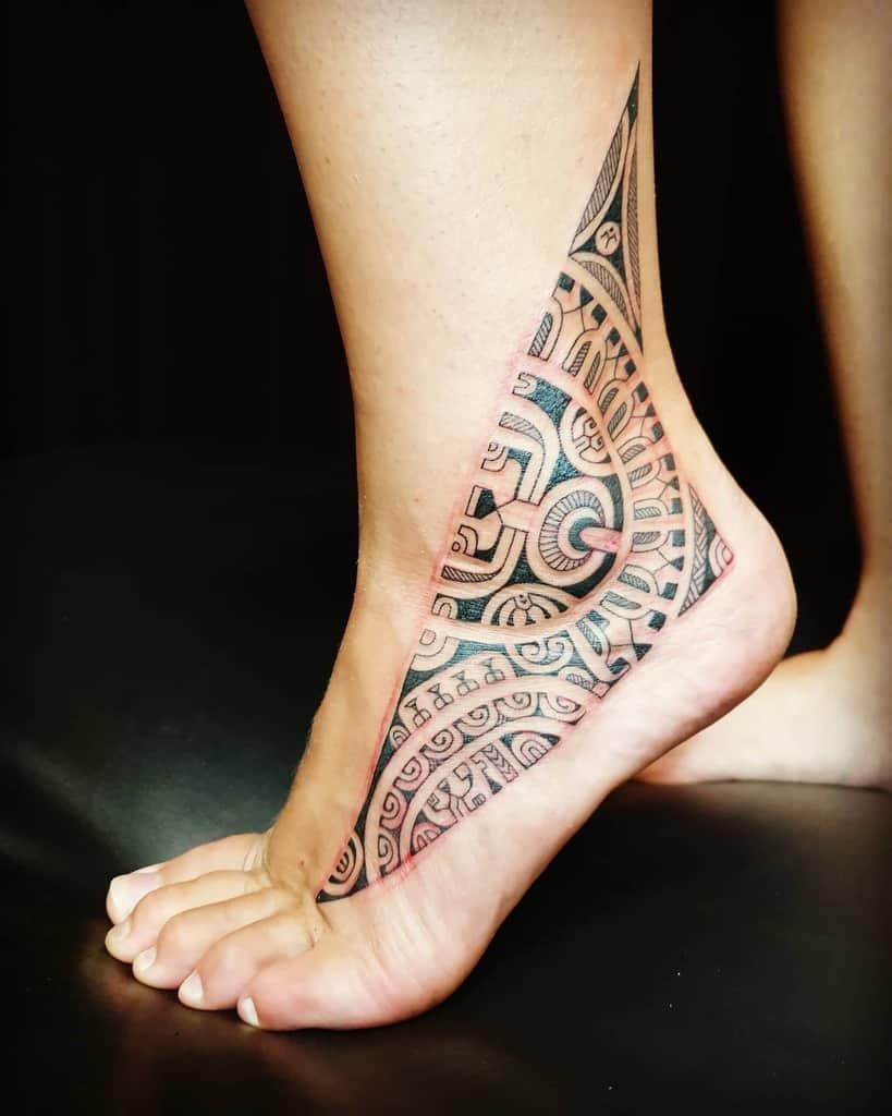 ankle simple tribal tattoos tattoobypatu
