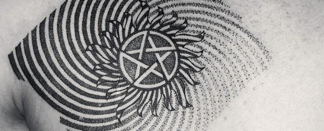 Top 37 Anti Possession Supernatural Tattoo Ideas [2020 Inspiration Guide]