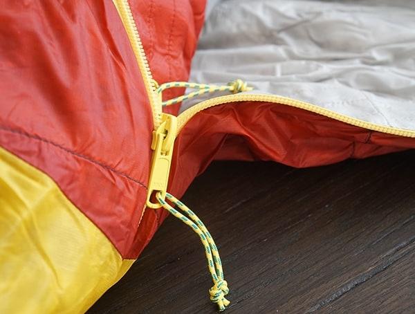 Anti Sang Zipper Tracks Sierra Designs Nitro 800 20 Degree Sleeping Bags