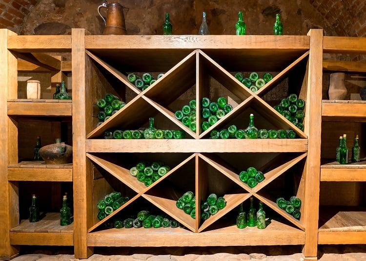 Antique Wine Cellar Basement Storage
