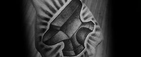 60 Anvil Tattoo Designs For Men – Iron Block Ink Ideas