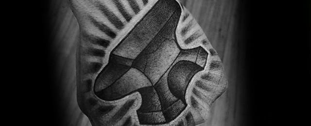 Anvil Tattoo Designs For Men
