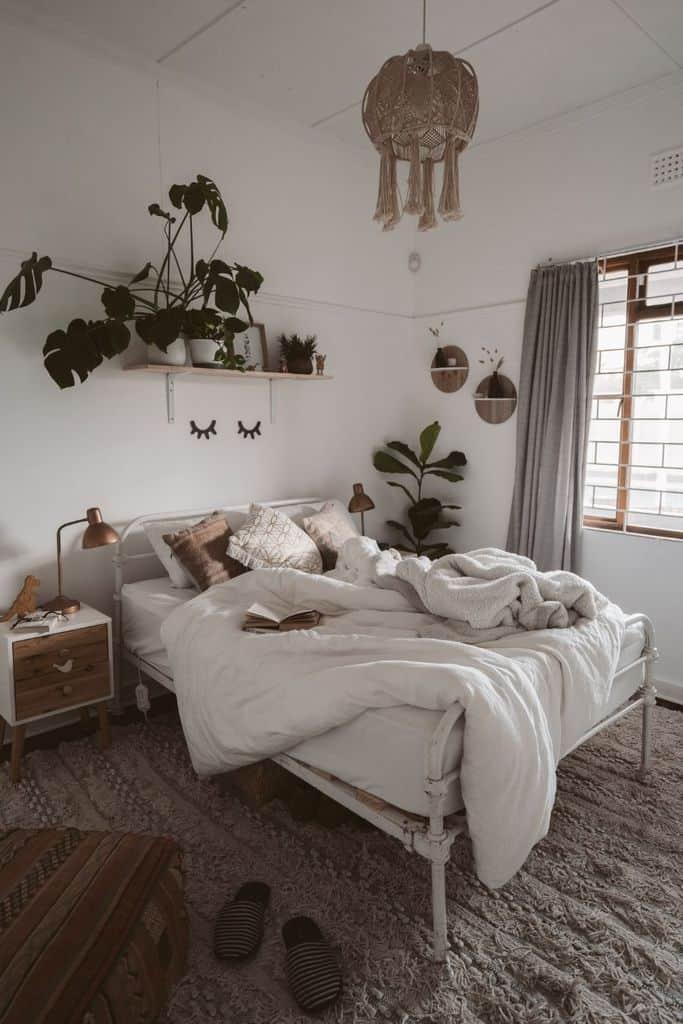 apartment boho bedroom ideas