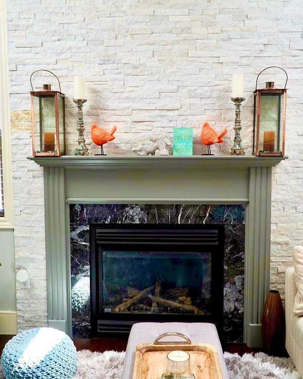 Apartment Fireplace Mantel Decor Ideas Jchomeinspo