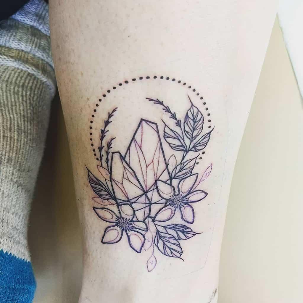 Apollo Lavander Tattoo